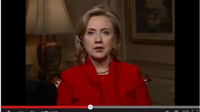 Secretary Clinton Tomorrow Will Be Better