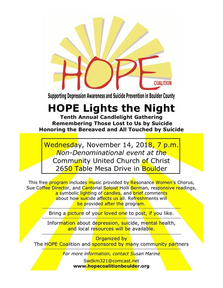 HOPE Lights The Night Flier